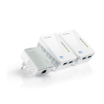 TP-LINK TL-WPA4220T KIT 300 Mbit/s Ethernet LAN Wi-Fi White 3 pc(s)