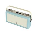 ViewQwest Hepburn Mk II radio Portable Analog & Digital Mint colour,White