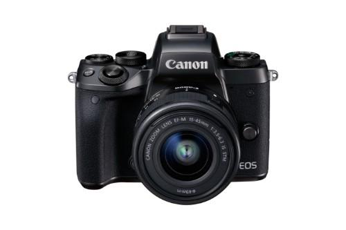 Canon EOS M5 + EF-M 15-45mm IS STM MILC 24.2 MP CMOS 6000 x 4000 pixels Black