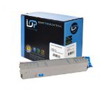 Click, Save & Print Remanufactured Oki 44844507 Cyan Toner Cartridge