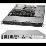 Supermicro SuperServer 6019P-WTR Intel® C621 LGA 3647 (Socket P) Rack (1U) Black