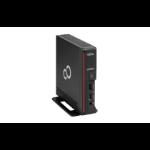 Fujitsu ESPRIMO G558 i3-9100 UCFF 9th gen Intel® Core™ i3 4 GB DDR4-SDRAM 256 GB SSD Windows 10 Pro Mini PC Black
