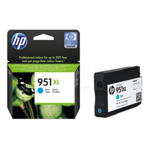 HP CN046AE#301 (951XL) Ink cartridge cyan, 1.5K pages, 24ml