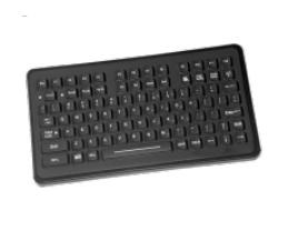 Intermec 850-551-109 PS/2 QWERTY Black keyboard