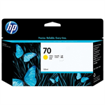 HP C9454A (70) Ink cartridge yellow, 130ml