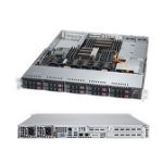 Supermicro SuperServer 1028R-WTRT LGA 2011-v3 Rack (1U) Black