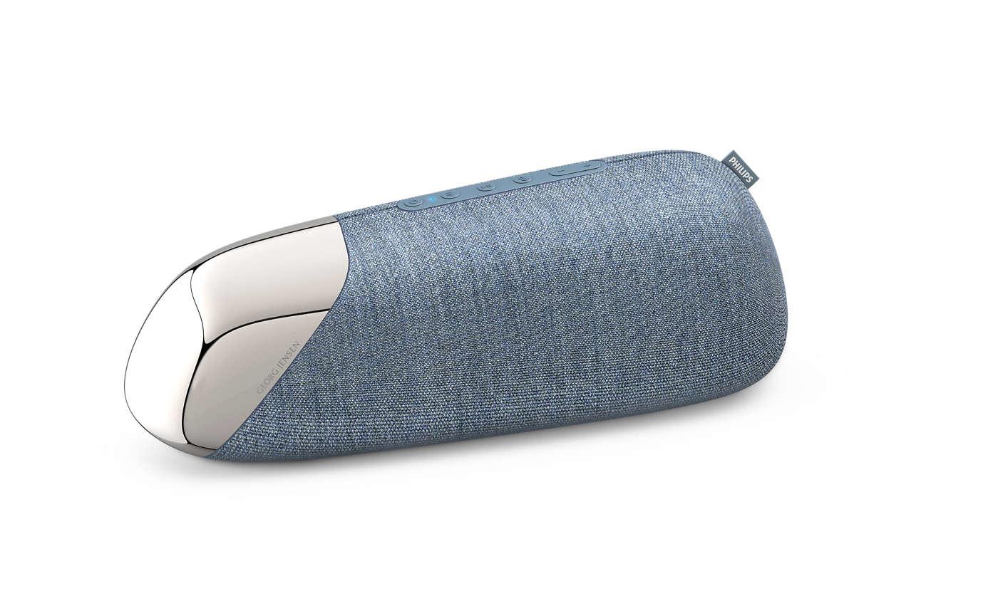 Philips TAJS50/00 portable speaker 30 W Stereo portable speaker Blue