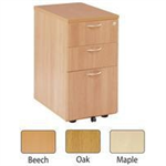 JEMINI FF JEMINI 3 DRW DESK HIGH PED 600 MAPLE