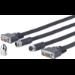 VivoLink PRODVICW15 DVI cable 15 m DVI-D Black