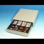 International Cash Drawer 3S-423 Stainless steel White