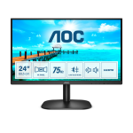 "AOC B2 24B2XDAM LED display 60.5 cm (23.8"") 1920 x 1080 pixels Full HD Black"
