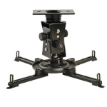 Peerless PAG-UNV-HD ceiling Black project mount