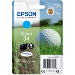 Epson C13T34624010 (34) Ink cartridge cyan, 300 pages, 4ml