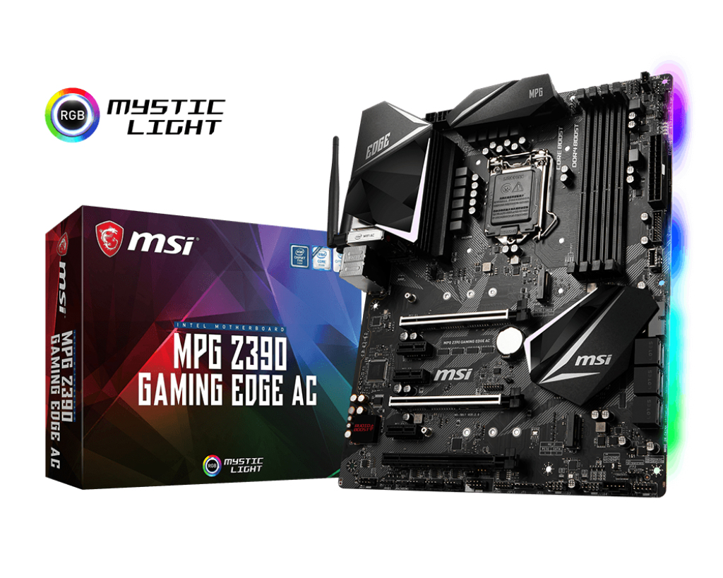MSI MPG Z390 GAMING EDGE AC LGA 1151 (Socket H4) Intel Z390 ATX