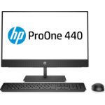 "HP ProOne 440 G4 60.5 cm (23.8"") 1920 x 1080 pixels 8th gen Intel® Core™ i5 8 GB DDR4-SDRAM 1000 GB HDD Windows 10 Home Wi-Fi 5 (802.11ac) All-in-One PC Black"