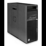 HP Workstation Z640 Tower 2WU33EA Xeon E5-2650V4 32GB 512GB SSD DVDRW Win 7 Pro Black