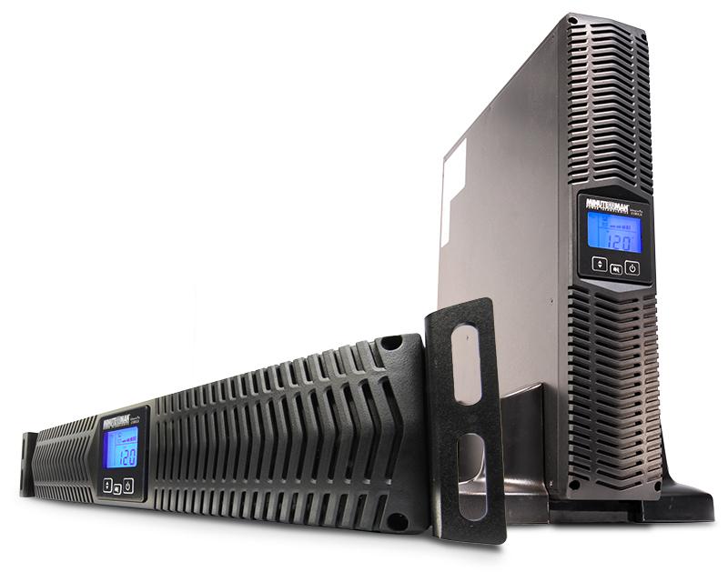 Minute Man E1500RTXL2U 1500VA 8AC outlet(s) uninterruptible power supply (UPS)
