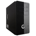 Rosewill R363-M-BK Midi-Tower 400W Black Computer Case