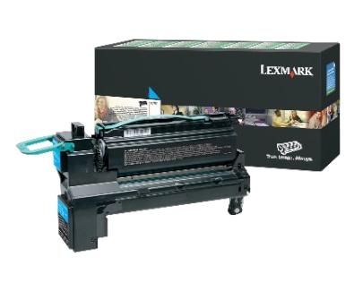 Lexmark 24B6018 Toner cyan, 18K pages