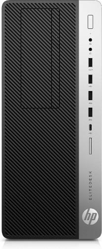 HP EliteDesk 800 G3 7th gen Intel® Core™ i5 i5-7500 8 GB DDR4-SDRAM 500 GB HDD Black,Silver Tower PC