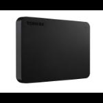 Toshiba Canvio Basics external hard drive 4000 GB Black
