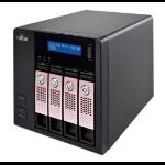 Fujitsu CELVIN NAS Q805 NAS Tower Ethernet LAN Black