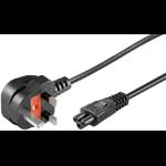 Microconnect PE090810 power cable Black 1 m C5 coupler