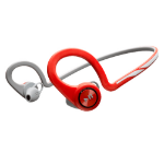 Plantronics BackBeat FIT Ear-hook Binaural Bluetooth Grey,Red mobile headset
