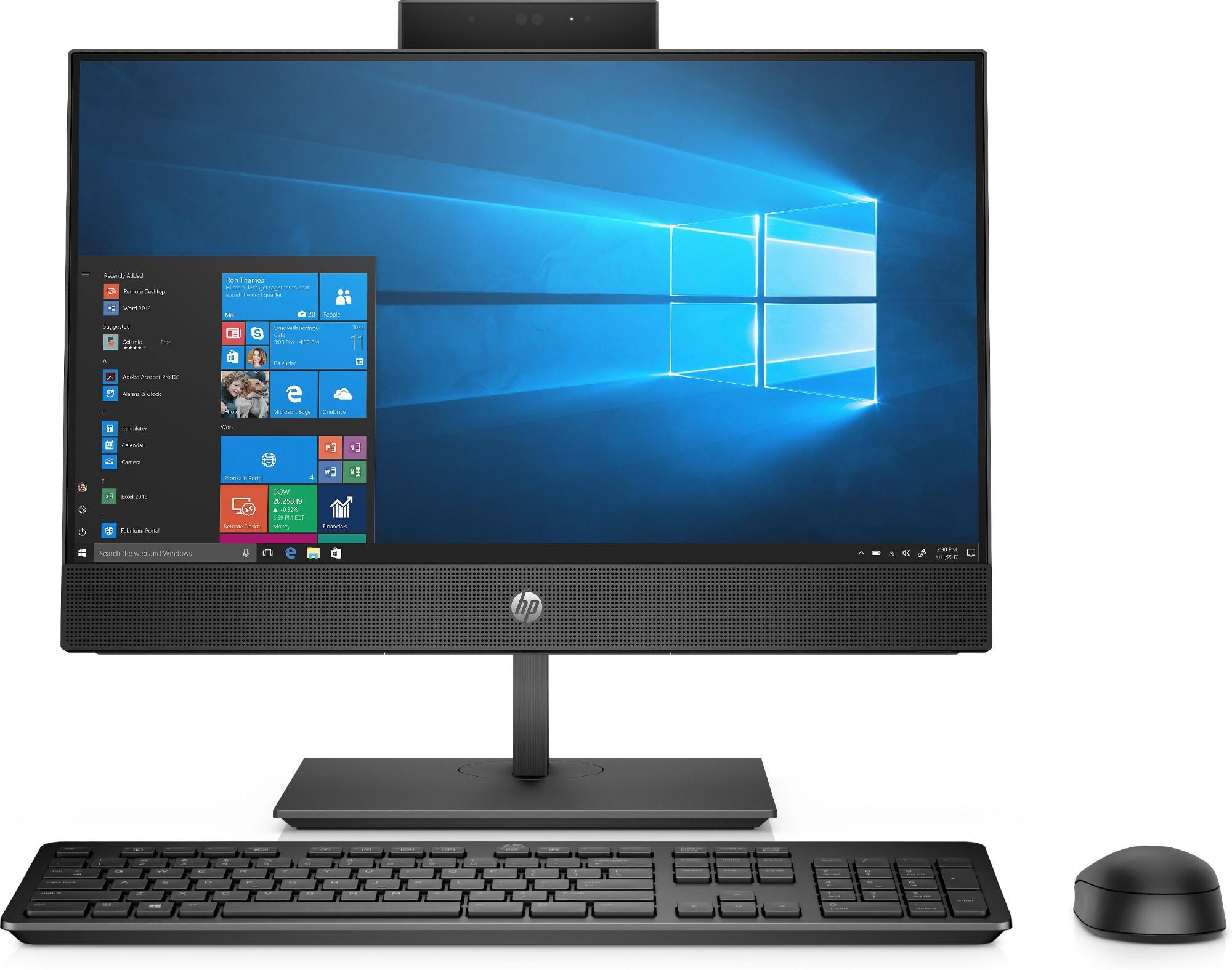 "HP ProOne 600 G5 54,6 cm (21.5"") 1920 x 1080 Pixeles Pantalla táctil 9na generación de procesadores Intel® Core™ i5 8 GB DDR4-SDRAM 256 GB SSD Wi-Fi 5 (802.11ac) Negro PC todo en uno Windows 10 Pro"