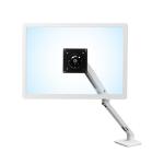 "Ergotron MXV Desk Monitor Arm 34"" Clamp White"