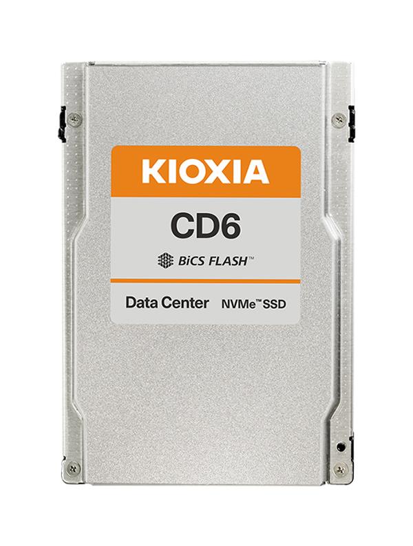 "Kioxia CD6-R 2.5"" 3840 GB PCI Express 4.0 3D TLC NVMe"