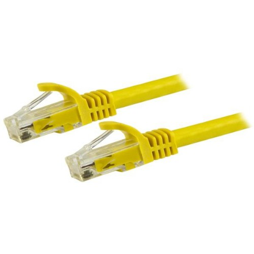 StarTech.com 15m Yellow Gigabit Snagless RJ45 UTP Cat6 Patch Cable - 15 m Patch Cord
