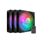 """Cooler Master SickleFlow 120 ARGB Computer case Fan 4.72"""" (12 cm) Black 3 pc(s)"""