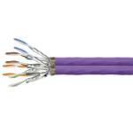 LogiLink CQ6100D networking cable 100 m Cat7a S/FTP (S-STP) Violet