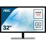 "AOC Value-line Q3279VWFD8 computer monitor 80 cm (31.5"") 2560 x 1440 pixels Wide Quad HD LED Flat Matt Black"
