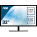 "AOC Value-line Q3279VWFD8 pantalla para PC 80 cm (31.5"") Wide Quad HD LED Plana Mate Negro"