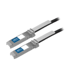 Add-On Computer Peripherals (ACP) 10GBASE-CU, SFP+, 1m networking cable Black