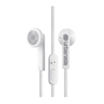 Urbanista Oslo In-ear Binaural Wired White mobile headset