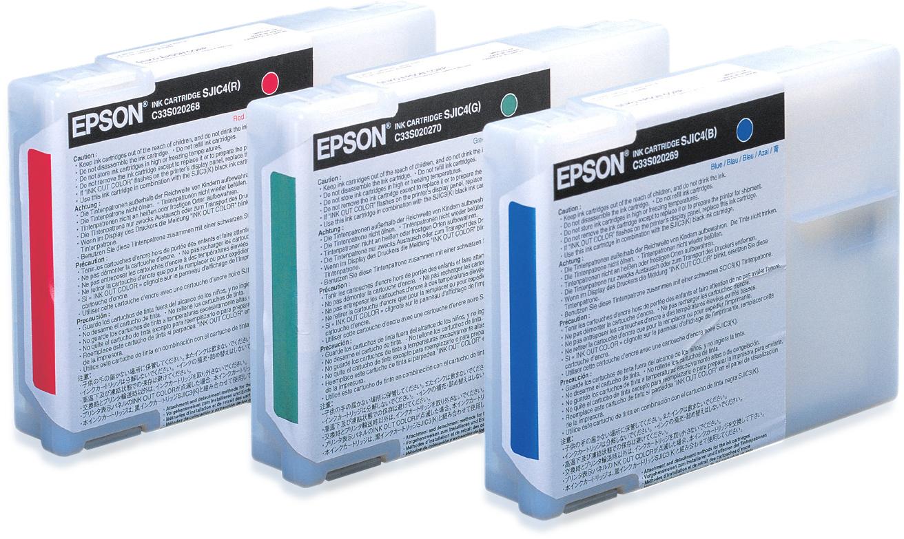 Epson Ink cartridge for TM-J2100 (Red) / SJIC4(R)
