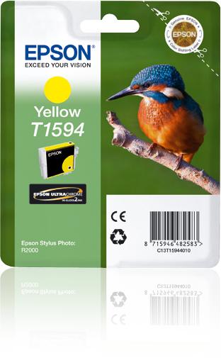 Epson Cartucho T1594 amarillo