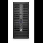 HP EliteDesk 800 G2 3.4GHz i7-6700 Micro Tower Black PC