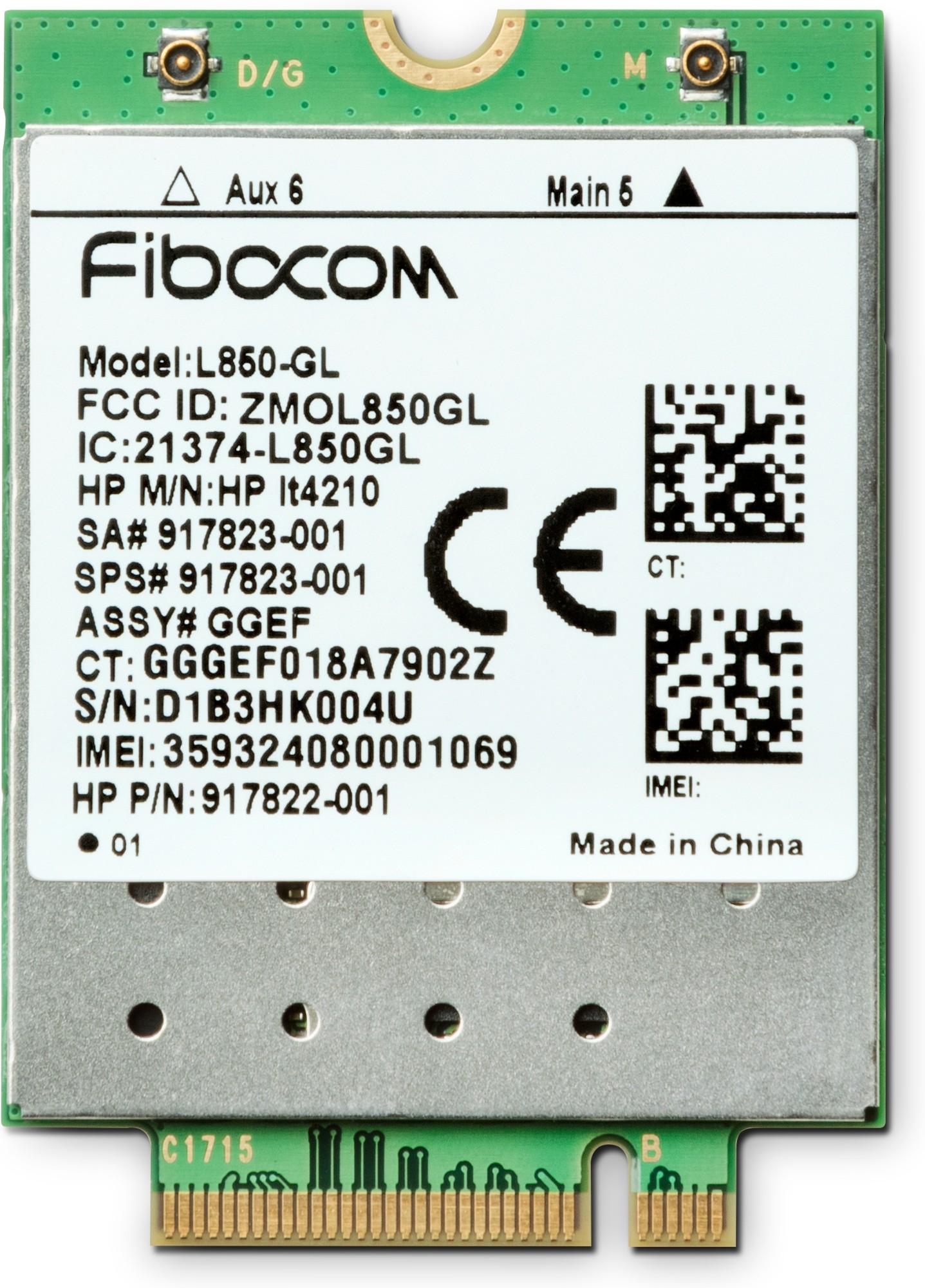 HP XMM 7360 LTE-Advance WWAN cellular wireless network equipment