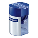 Staedtler 512 001 Manual pencil sharpener Blue,Silver pencil sharpener