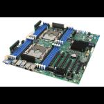 Intel S2600STQR server/workstation motherboard Intel® C628