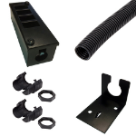 Cablenet 4 Way Pre-Assembled POD Box 5m Kit Horizontal 25mm