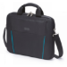 Dicota 13.3-Inch Top Loading Lockable Cushioned Notebook Briefcase - Black/Blue - (D30993)