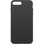 eSTUFF iPhone 8+ Silicone case Black mobile phone case Cover