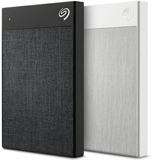 SEAGATE BACKUP PLUS ULTRA TOUCH EXTERNAL HARD DRIVE 1000 GB BLACK