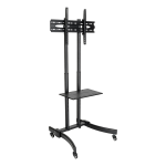 Tripp Lite DMCS3770L flat panel floorstand Portable flat panel floor stand Black 70""