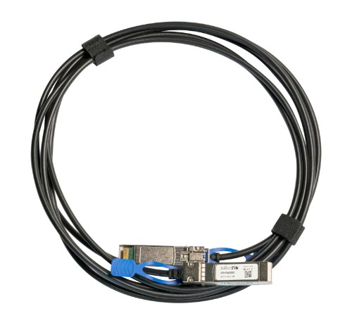Mikrotik XS+DA0001 InfiniBand cable 1 m SFP/SFP+/SFP28 Black
